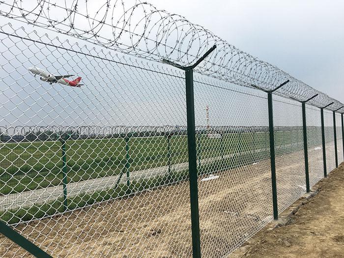 铝包钢丝机场围界